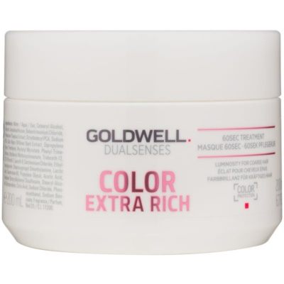 Goldwell Dualsenses Color Extra Rich регенерираща маска  за груба, боядисана коса