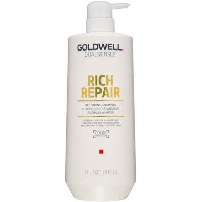 Goldwell Dualsenses Rich Repair megújító sampon száraz és sérült hajra