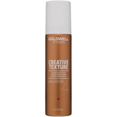 Goldwell StyleSign Creative Texture Unlimitor 4 Hair Styling Wax in Spray