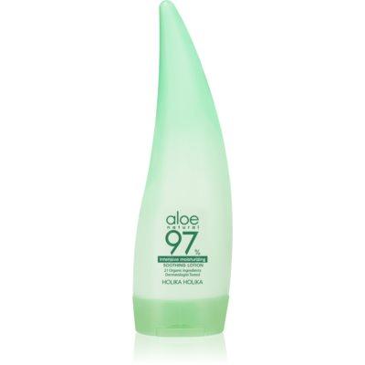 Holika Holika Aloe 97% lait pour le corps hydratation intense