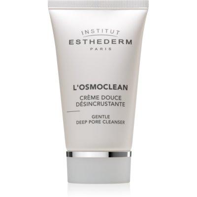 Institut Esthederm Osmoclean Gentle Deep Pore Cleanser делікатний крем для глибокого очищення пор