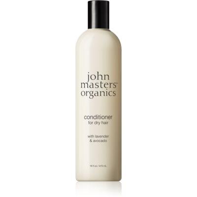 John Masters Organics Lavender & Avocado balsamo intenso per capelli rovinati e secchi