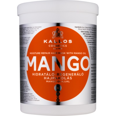 Kallos KJMN Fortifying Mask With Mango Oil