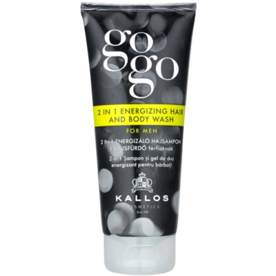 Kallos Gogo Energising Shower Gel for Body and Hair