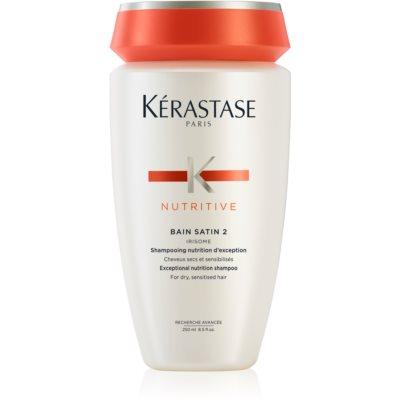 Kérastase Nutritive Bain Satin 2 nährende Shampoo-Kur für trockenes und überempfindliches Haar