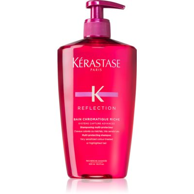Kérastase Reflection Bain Chromatique Riche Multi-Protective Nourishing Shampoo For Coloured And Sensitive Hair