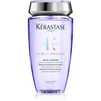 Kérastase Blond Absolu Bain Lumière šamponová lázeň pro zesvětlené nebo melírované vlasy