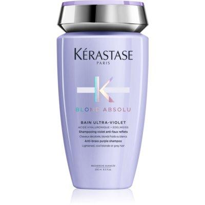 Kérastase Blond Absolu Bain Ultra-Violet samponfürdő szőkített, melírozott, hideg szőke hajra