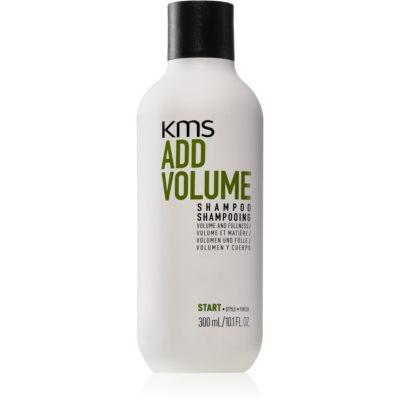 KMS California Add Volume Shampoo für feines und schlaffes Haar für einen volleren Haaransatz