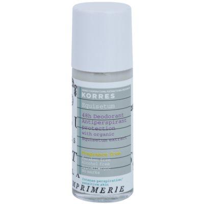 Korres Equisetum шариковый дезодорант без запаха 48часов