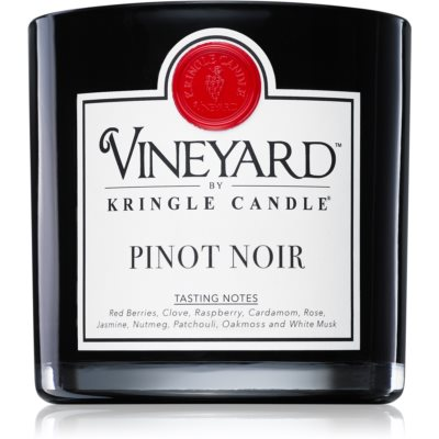 Kringle Candle Vineyard Pinot Noir scented candle