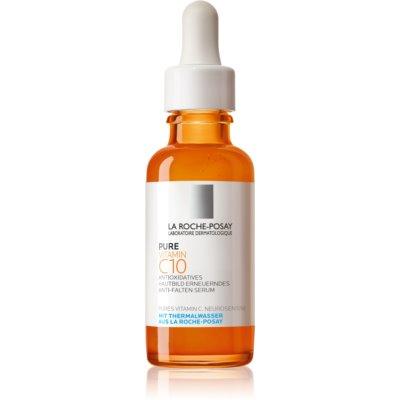 La Roche-Posay Pure Vitamin C10 rozjasňujúce protivráskové sérum s vitamínom C