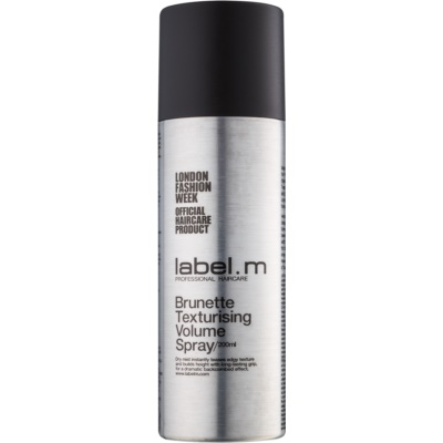 label.m Complete Texturising Volume Spray For Brown To Dark Hair