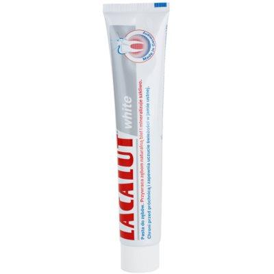 Lacalut White pasta do zębów o działaniu wybielającym