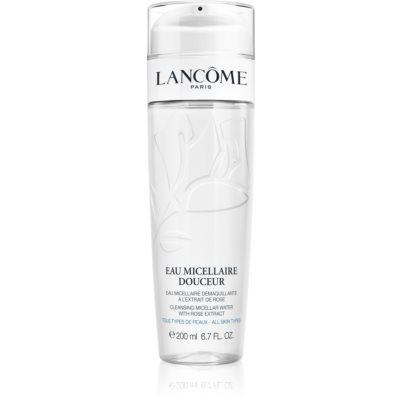 Lancôme Eau Micellaire Douceur Міцелярна очищуюча вода з ароматом троянди