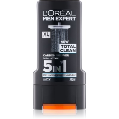 L'Oréal Paris Men Expert Total Clean гель для душа 5 в 1