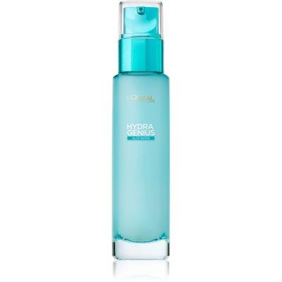 L'Oréal Paris Hydra Genius Feuchtigkeit spendende Gesichtshautpflege für normale Haut und Mischhaut