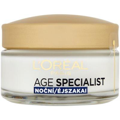 L'Oréal Paris Age Specialist 65+ поживний нічний крем проти зморшок