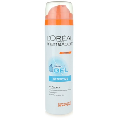 L'Oréal Paris Men Expert Hydra Sensitive gel de rasage peaux sensibles