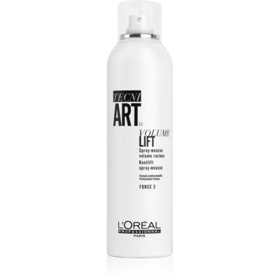 L'Oréal Professionnel Tecni.Art Volume Lift піна для волосся для об'єму біля основи