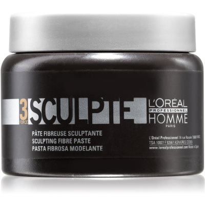 L'Oréal Professionnel Homme 3 Force Sculpte modelujący krem  do włosów medium