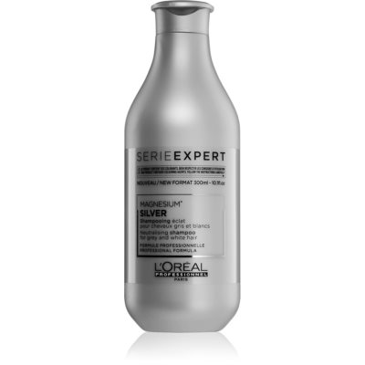 L'Oréal Professionnel Serie Expert Silver champô prateado neutraliza tons amarelados