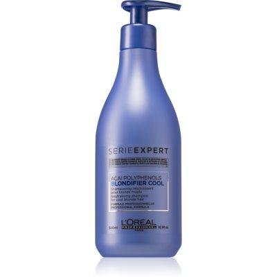 L'Oréal Professionnel Serie Expert Blondifier Shampoo zum Neutralisieren von Gelbstich