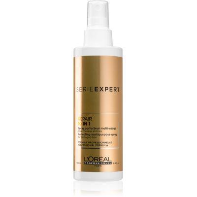 L'Oréal Professionnel Serie Expert Absolut Repair Gold Quinoa + Protein ľahký multifunkčný sprej pre poškodené vlasy