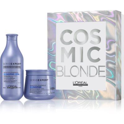 L'Oréal Professionnel Serie Expert Blondifier darčeková sada I. (pre blond vlasy)