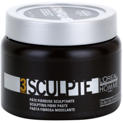 L'Oréal Professionnel Homme 3 Force Sculpte Modelleringspasta Medium kontroll