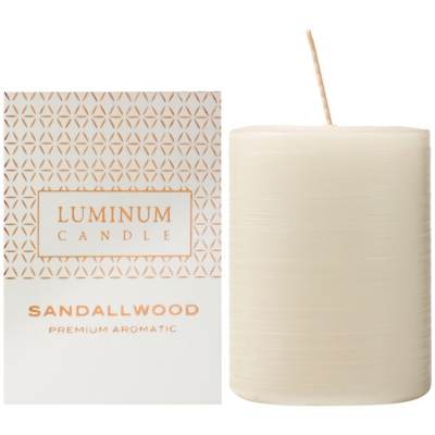 Luminum CandlePremium Aromatic Sandalwood