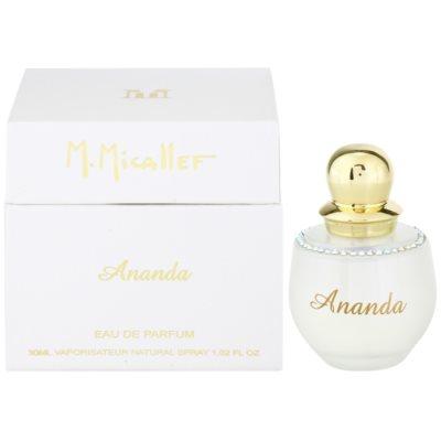 M. Micallef Ananda Eau de Parfum för Kvinnor