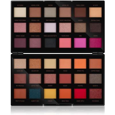 Makeup Revolution by Petra палетка теней для век
