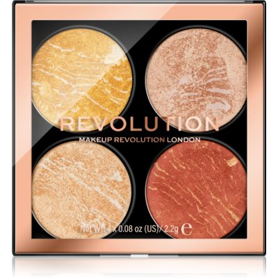 Makeup Revolution Cheek Kit Palette visage