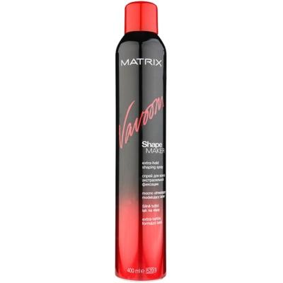 Matrix Vavoom Shape Maker lak na vlasy extra silné spevnenie