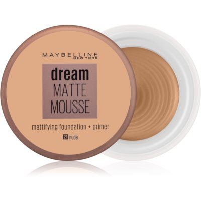 Maybelline Dream Matte Mousse матирующая тональная основа