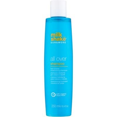 Milk Shake Sun & More увлажняющий шампунь для волос и тела
