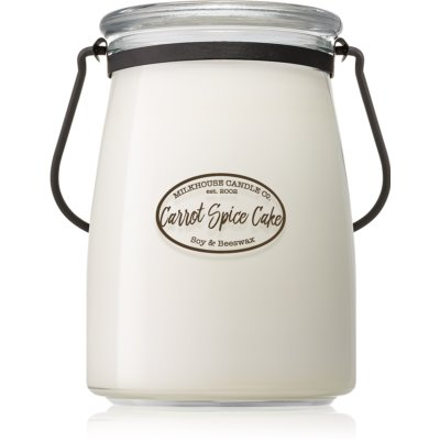 Milkhouse Candle Co. Creamery Carrot Spice Cake αρωματικό κερί Butter Jar