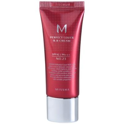 Missha M Perfect Cover ВВ-крем с очень высоким уровнем защиты от УФ-лучей маленькая упаковка