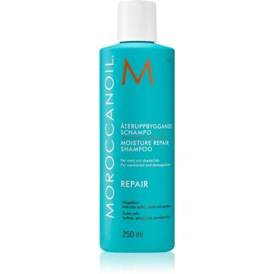 Moroccanoil Moisture Repair šampón pre poškodené, chemicky ošetrené vlasy