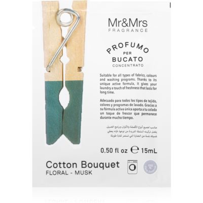 Mr & Mrs FragranceLaundry Cotton Bouquet