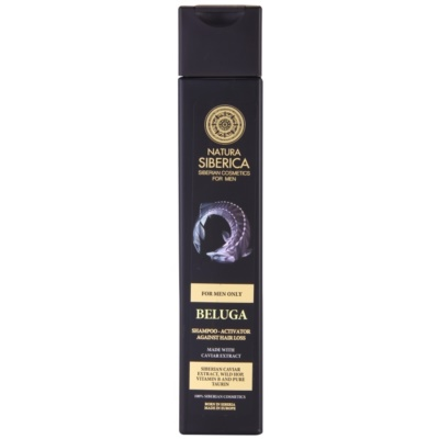 Natura Siberica For Men Only shampoo anti-diradamento e anti-caduta per uomo