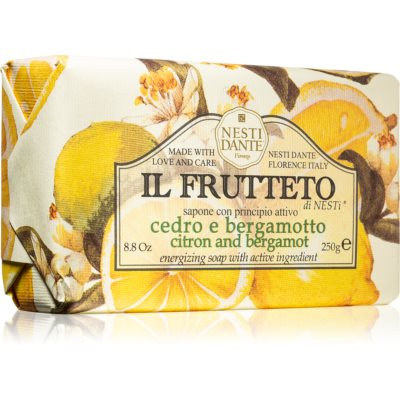 Nesti Dante Il Frutteto Citron and Bergamot натуральное мыло