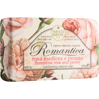 Nesti Dante Romantica Florentine Rose and Peony натуральное мыло