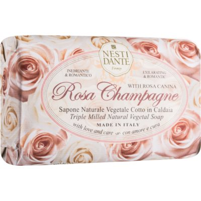 Nesti Dante Rose Champagne натуральное мыло