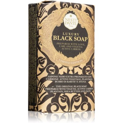 Nesti Dante Luxury Black Soap черное мыло