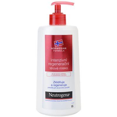 Neutrogena Norwegian Formula® Intense Repair intensywnie regenerujące mleczko do ciała do skóry suchej