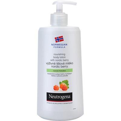 Neutrogena Norwegian Formula® Nordic Berry nährende Body lotion für trockene Haut