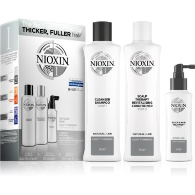 NioxinSystem 1 Natural Hair Light Thinning