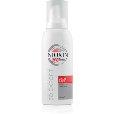 Nioxin 3D Experct Care pena na vlasy na ochranu farby